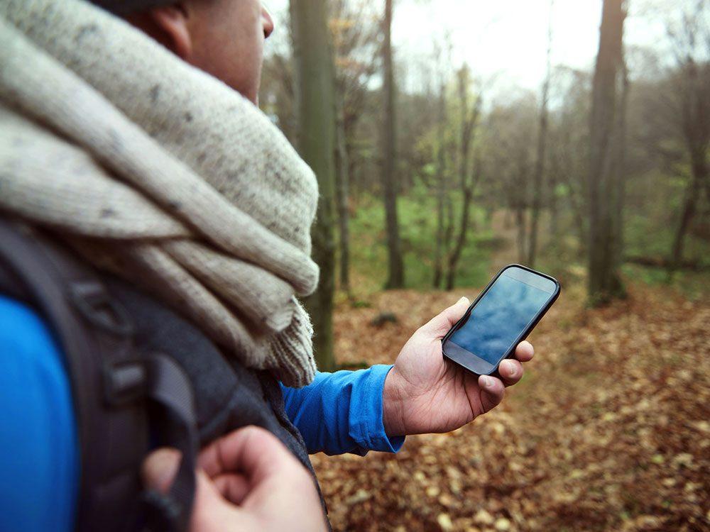 Si votre téléphone est vieux, sa batterie se vide plus facilement.