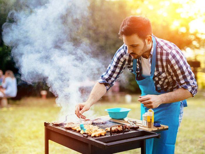 Truc pour le barbecue: ajoutez la sauce à la fin.