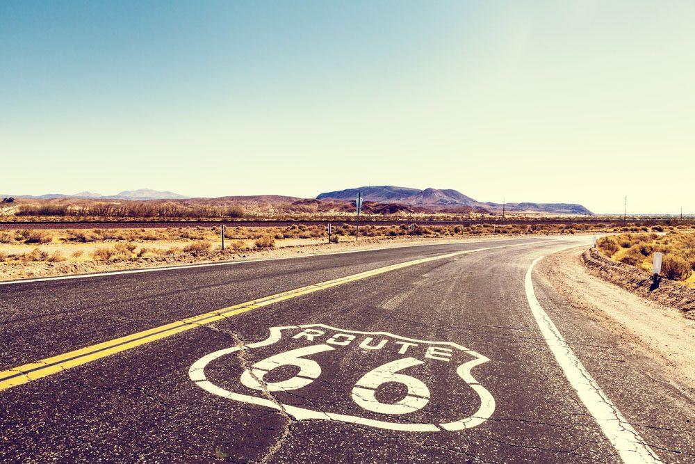 La route 66 est la plus longue autoroute aux États-Unis