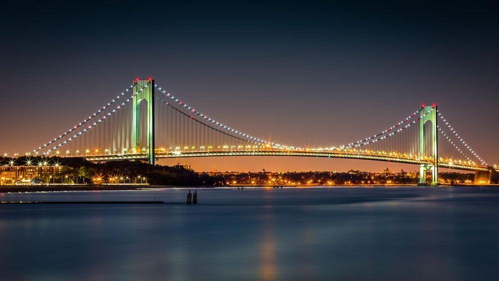 Le pont le plus long du monde est le Verrazano Narrows