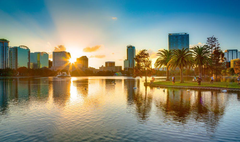 Orlando est la capitale de la Floride