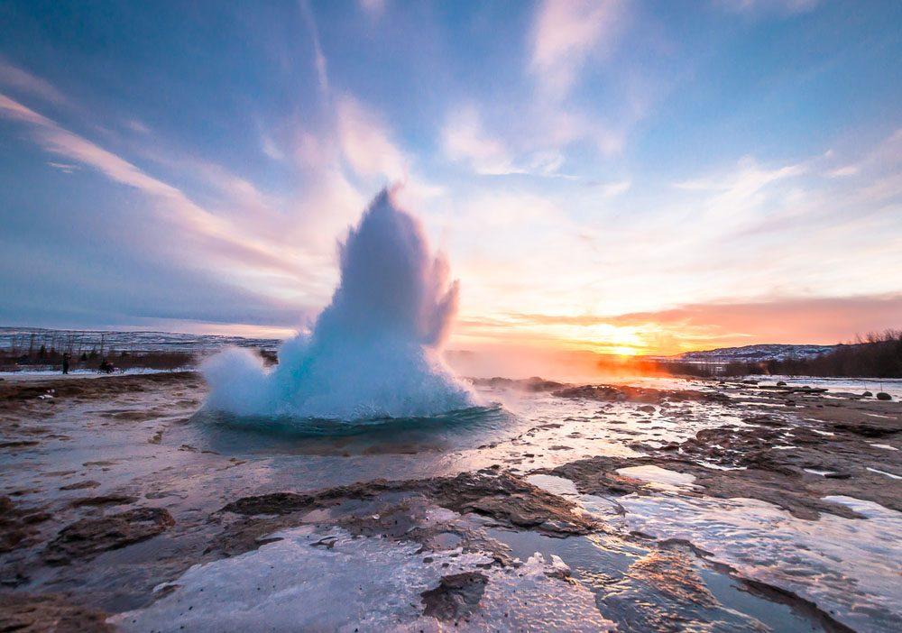 L'Islande est couverte de glace