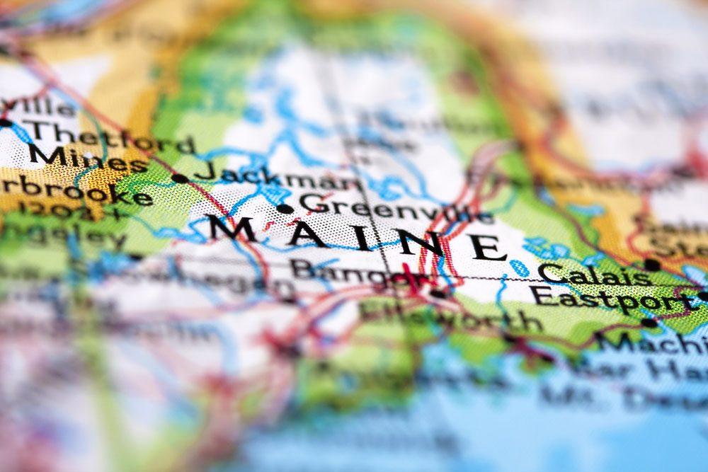 Le Maine est l'état le plus à l'est