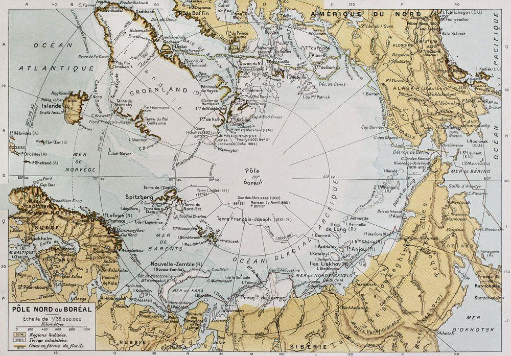 La Norvège est le pays le plus au nord du monde