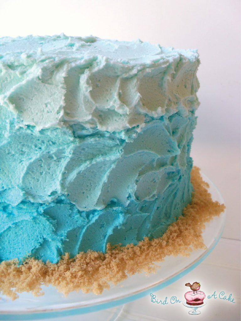 Apprenez à faire ce gâteau qui vous rappellera la mer et la plage.