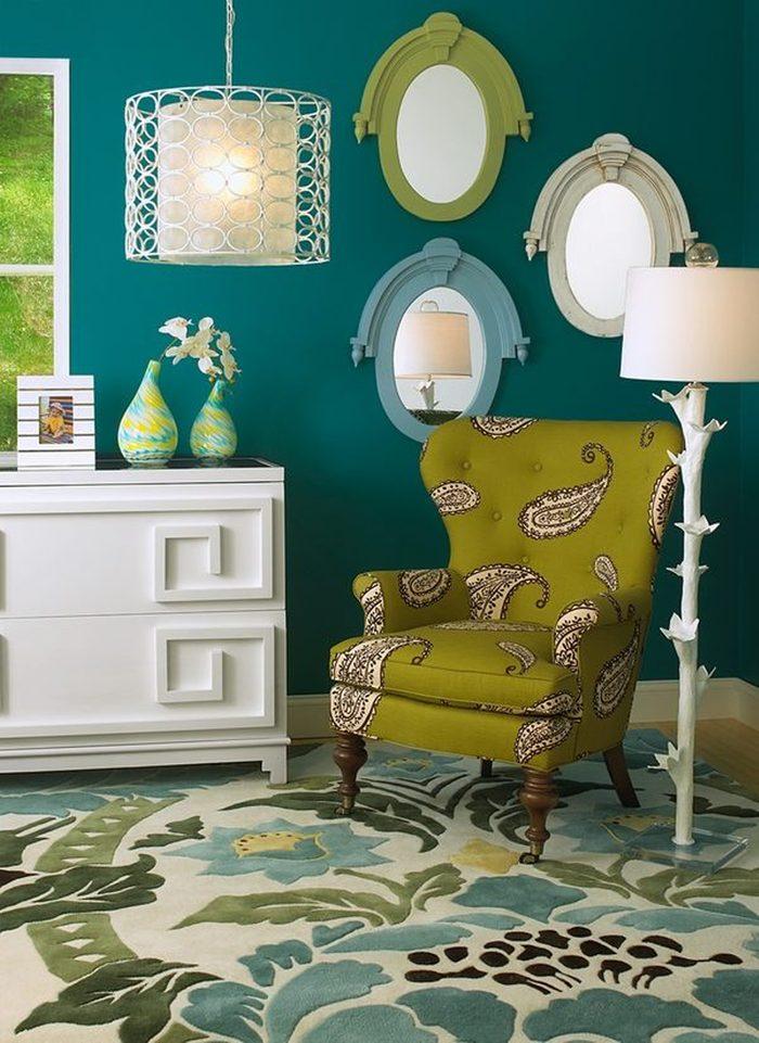 Le choix des couleurs est vraiment important pour qu'une pièce soit dédiée à la détente.