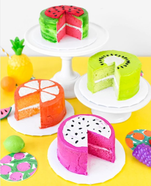 Apprenez à faire ces gâteaux aux inspirations fruitées.