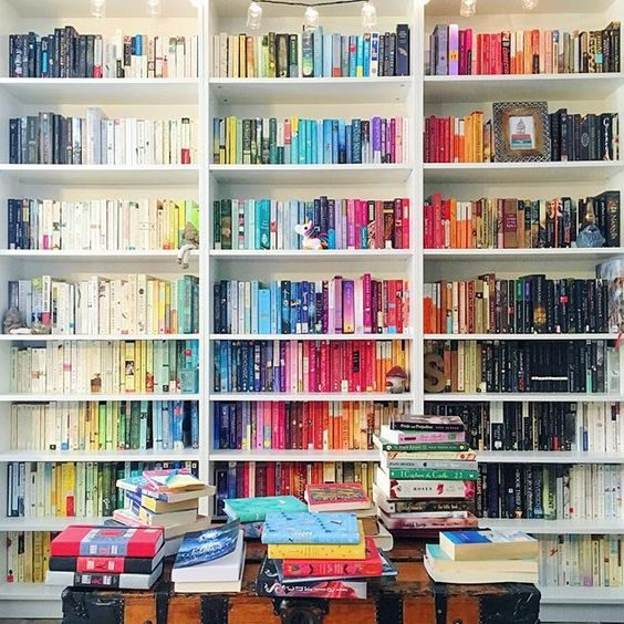 Créer un arc-en-ciel dans votre bibliothèque