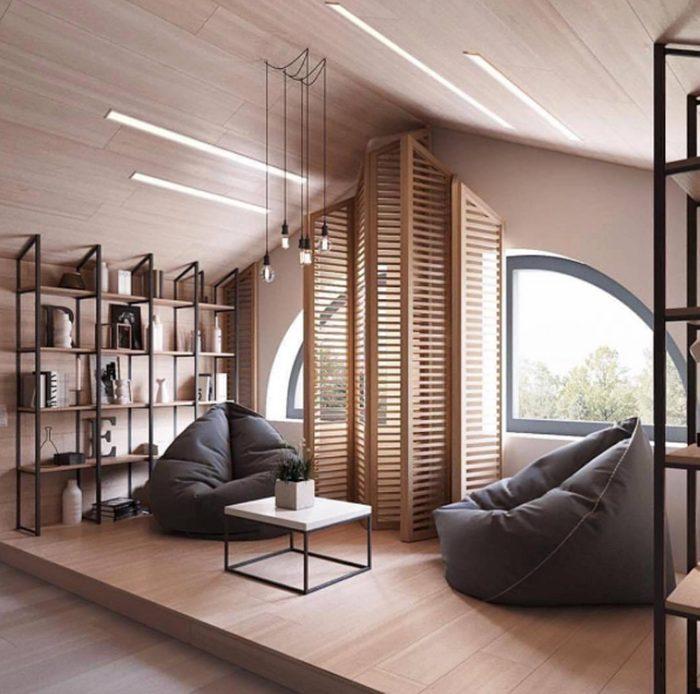 Vous pouvez partager votre espace dédié à la détente avec votre partenaire.