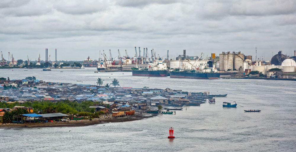Lagos est la capitale du Nigéria