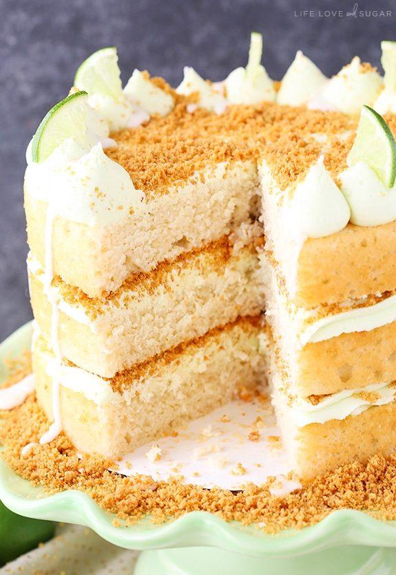 Apprenez à faire ce gâteau à la lime.