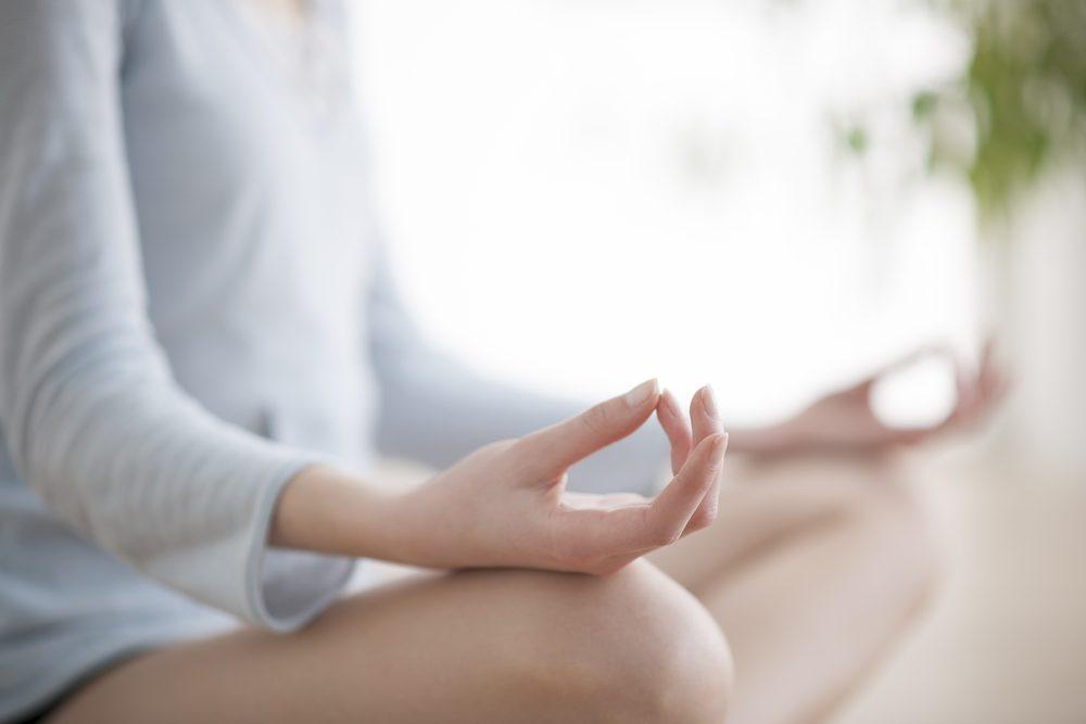 Faire de la méditation est bon pour le coeur.
