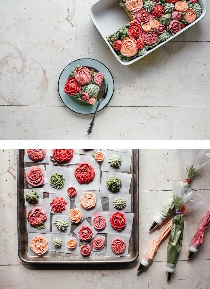 Apprenez à faire ce gâteau aux allures de rocaille.