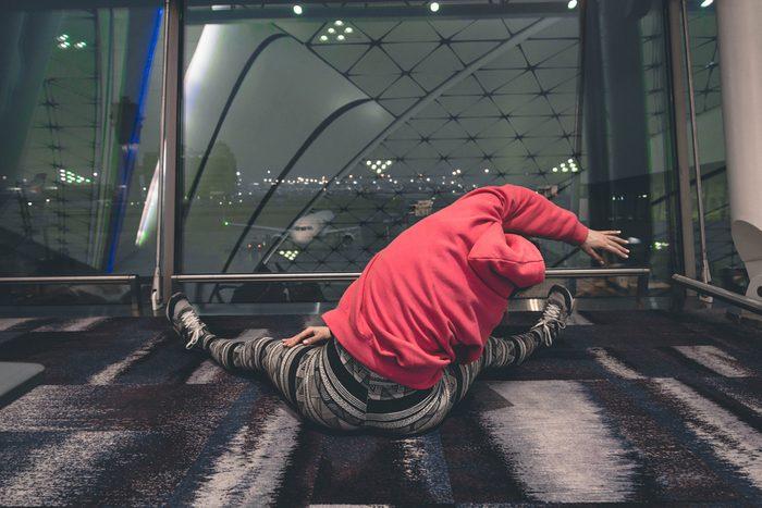 Profitez des escales pour vous étirer et faire de l'exercice.