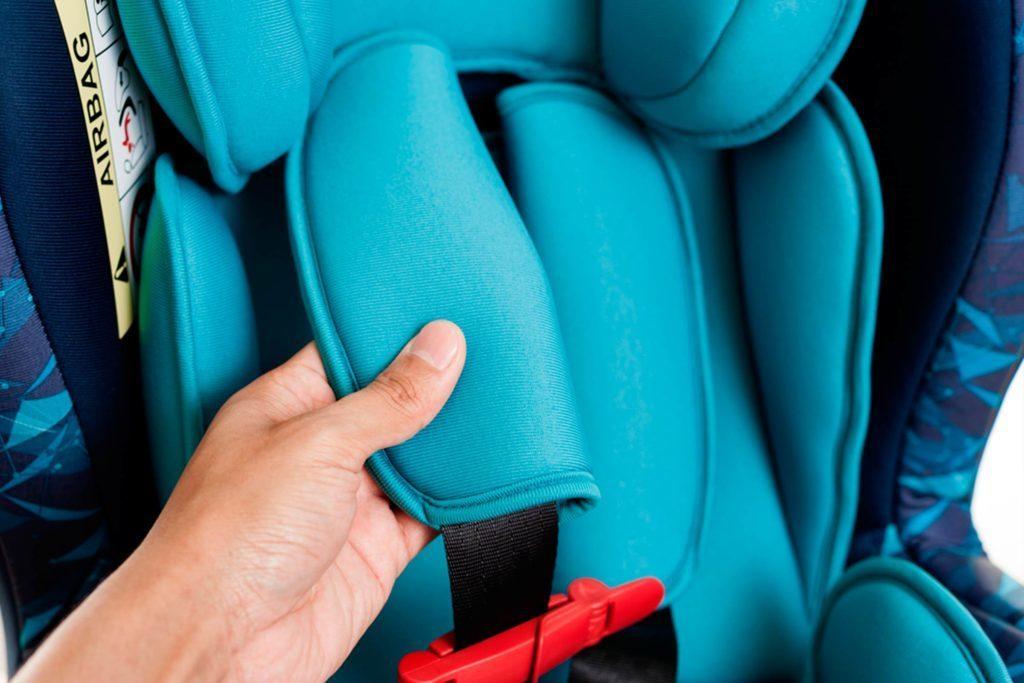 Portez attention au tissu de votre siège d'auto.