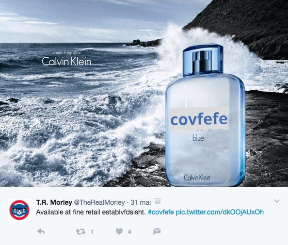 Faux parfum Covfefe