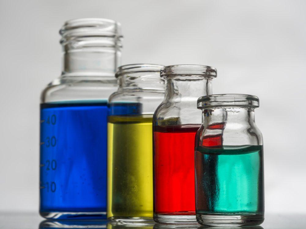 Les colorants artificiels sont à éviter.