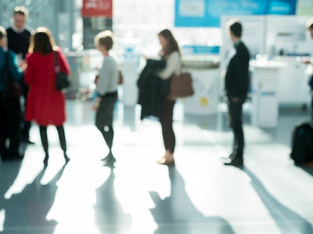 Aéroport: évitez les files d'attente en payant un supplément.