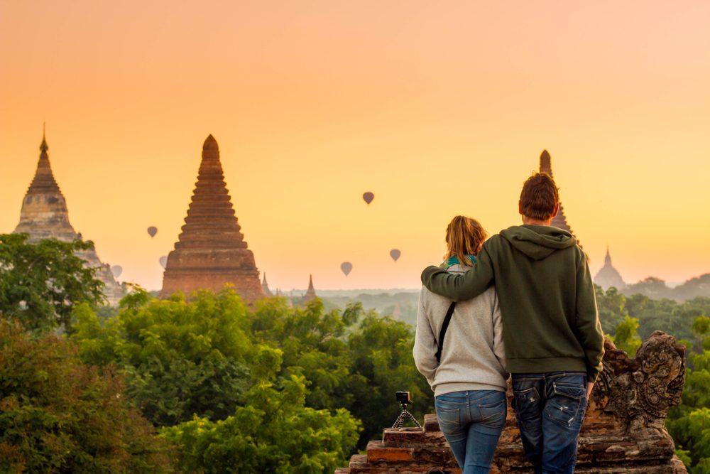 Un couple qui dure voyage ensemble