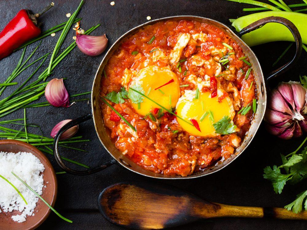 Cet plat est une bonne source de protéines.