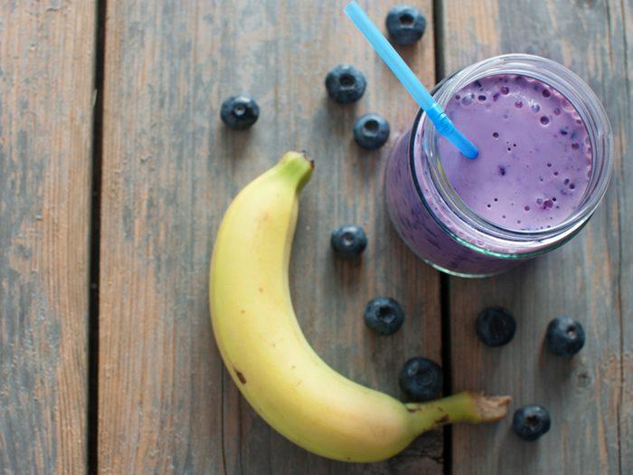 La banane aide à maigrir.