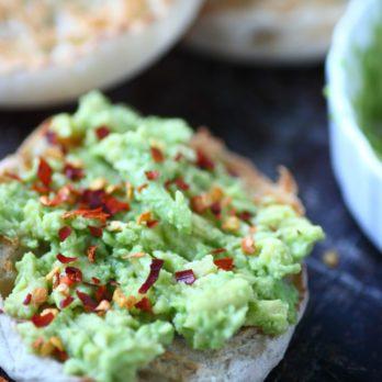 Muffin anglais aux légumes à la mexicaine
