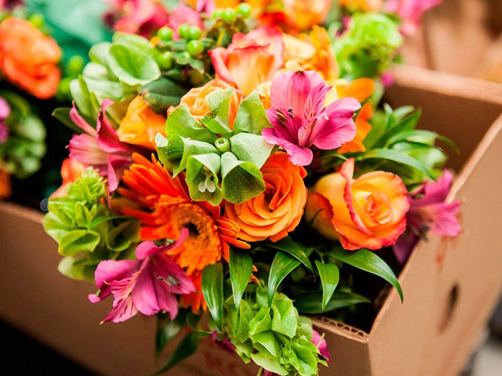 La beauté des fleurs pour votre fête d'été.
