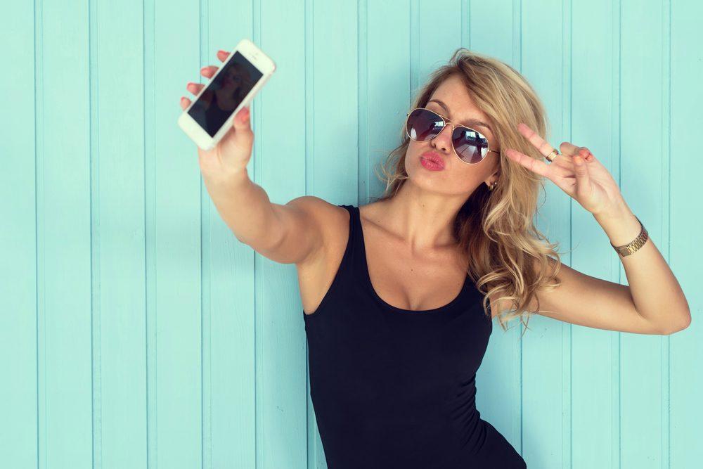 Habitude secrète: vous prenez des photos sexy de vous