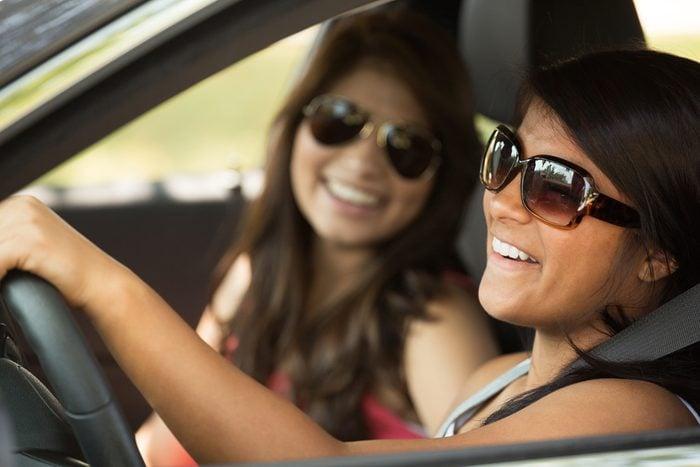 Habitude secrète: baisser le son en auto, pour se concentrer