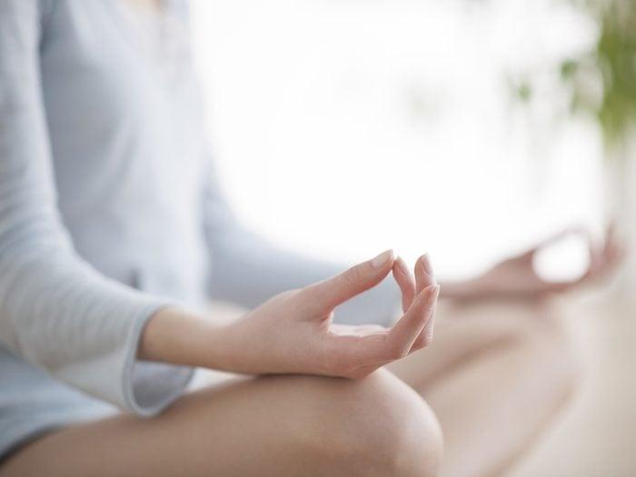 Faire de la méditation est bon contre les maladies du coeur.