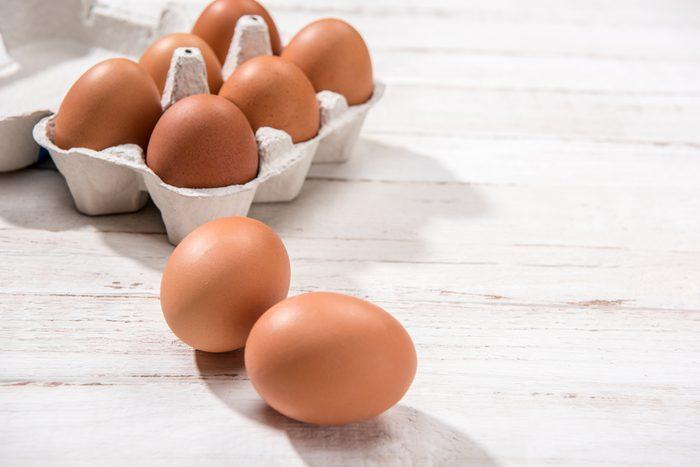 Les oeufs contiennent des antioxydants qui sont bons pour le coeur.