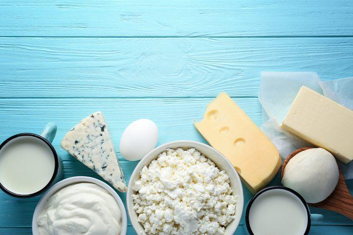 Les produits laitiers sont bons pour le coeur.