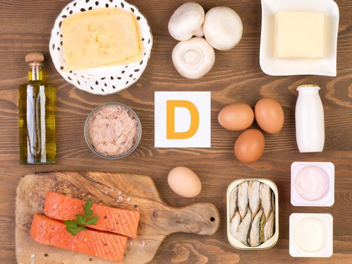 Consommer de la vitamine D aide à prévenir les maladies du coeur.