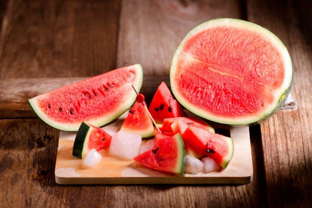 Le melon d'eau est un superaliment.