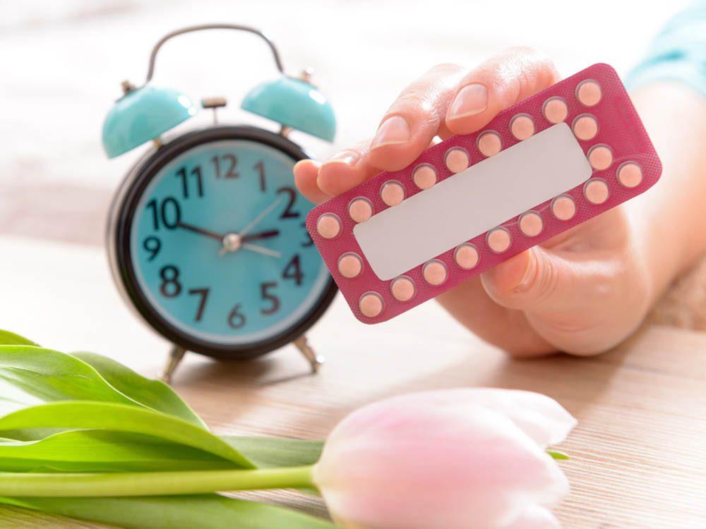 Pilule contraceptive: est-ce le moment idéal pour la prendre?