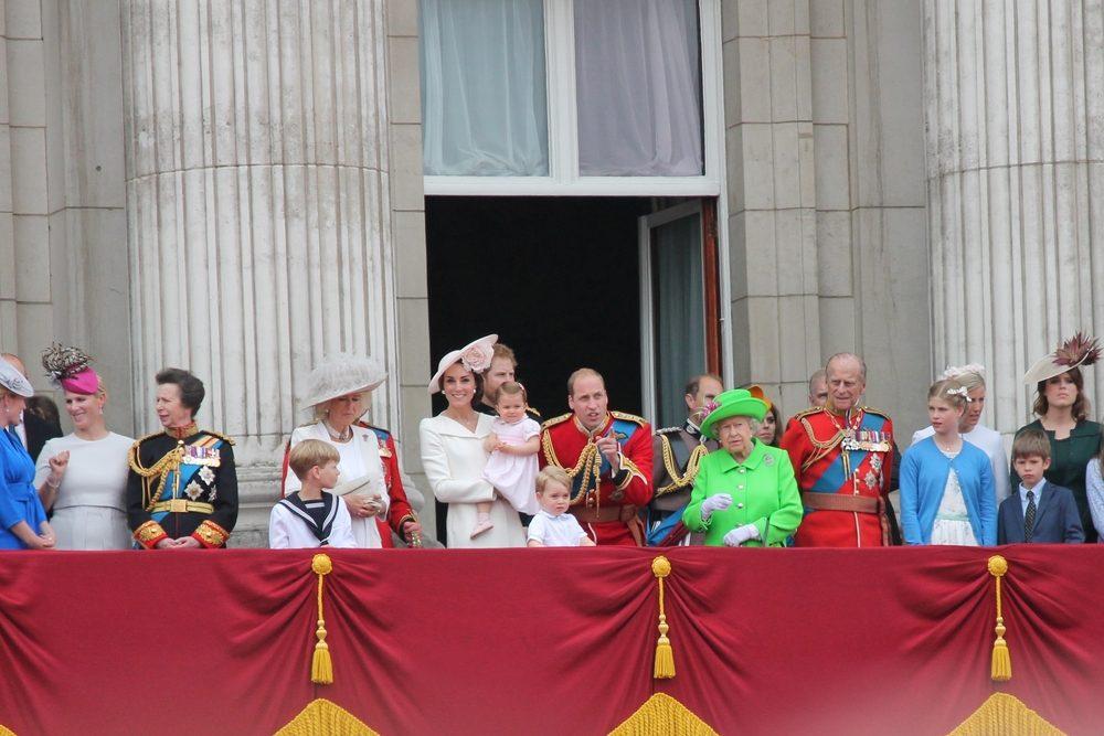 La Princesse Charlotte et la famille royale