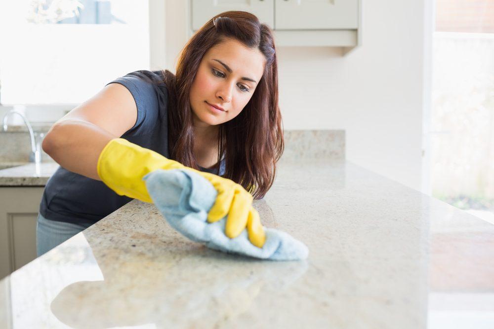Laver la cuisine de fond en comble