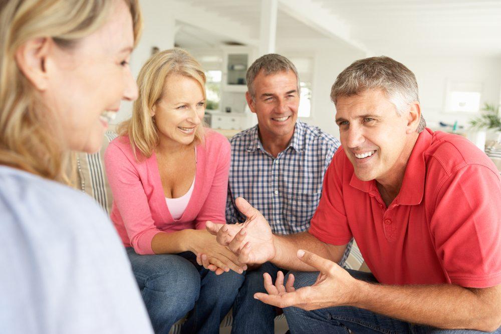 """Quand on est à deux depuis tellement longtemps, on voit apparaître une étrange tendance: parler presque exclusivement au """"on""""."""