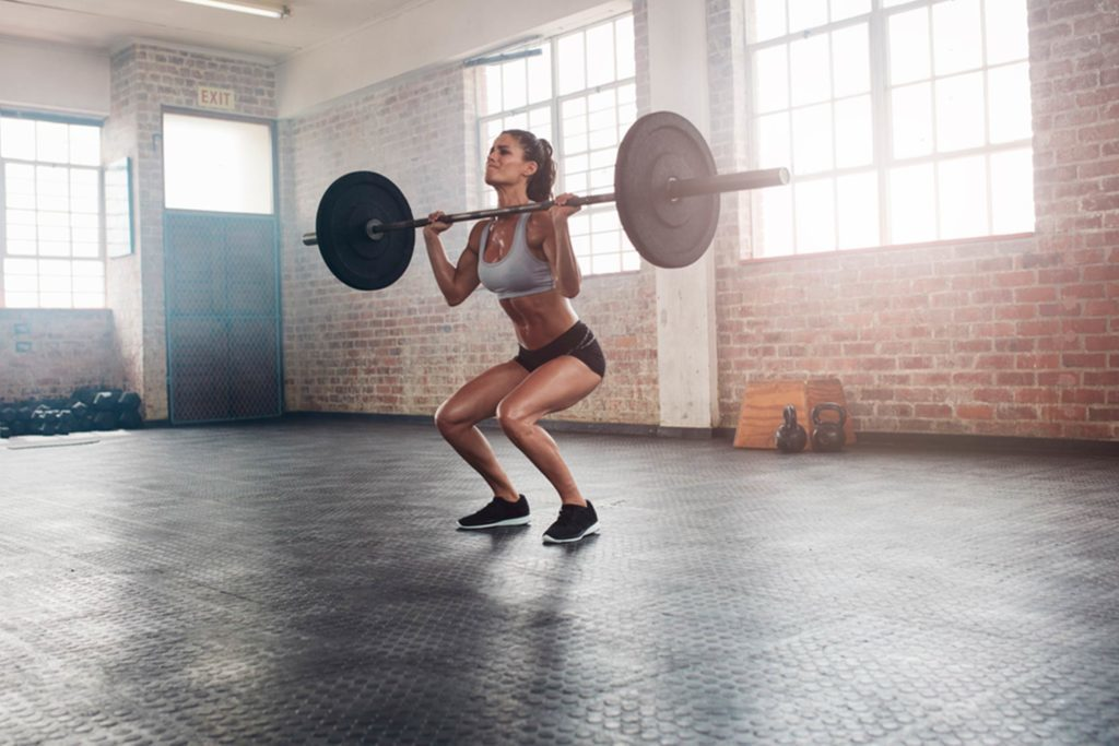 Les personnes qui aiment soulever des poids sont décidées, persévérantes et confiantes.