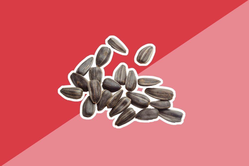 Une seule once de graines de tournesol contient les deux tiers de l'apport quotidien recommandé de vitamine E.