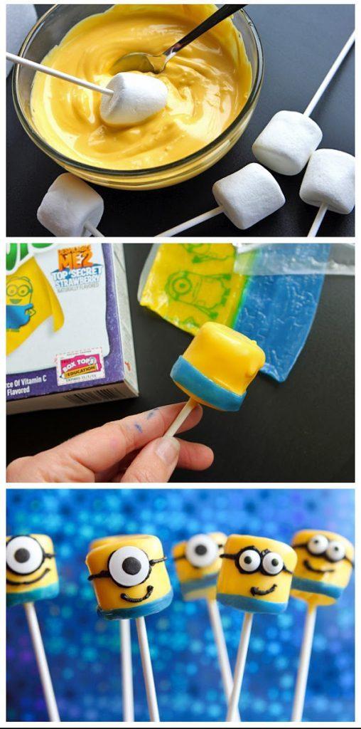 Ces Minions ressemblent à des popcakes.