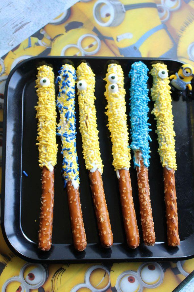 Bâtonnets sucré-salé Minions