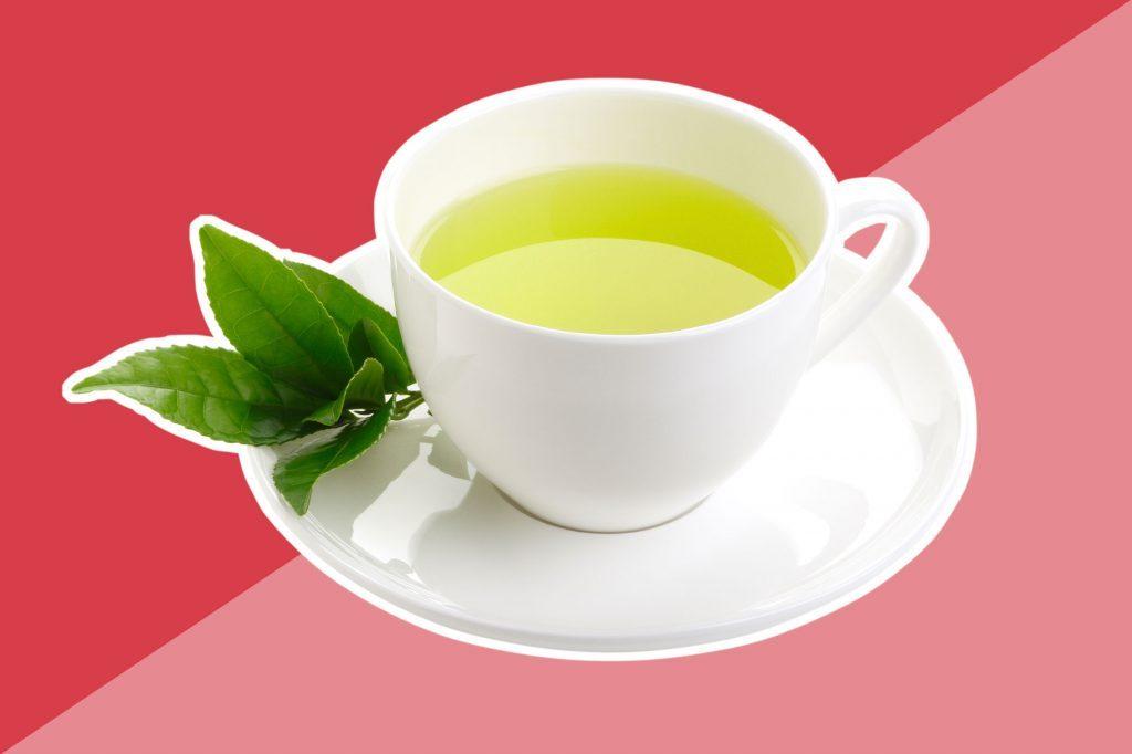 Le thé vert est rempli d'antioxydants appelés les EGCG.
