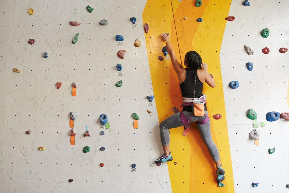L'escalade est un excellent sport pour remplacer la course à pied.