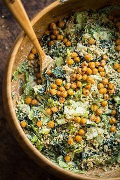 Salade César vegan
