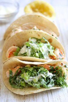 Salade César version tacos