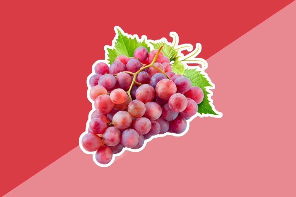 Les raisins contiennent un nutriment appelé résveratrol, un type de polyphénol, qui peut prévenir les dommages cellulaires pouvant entraîner un cancer de la peau.