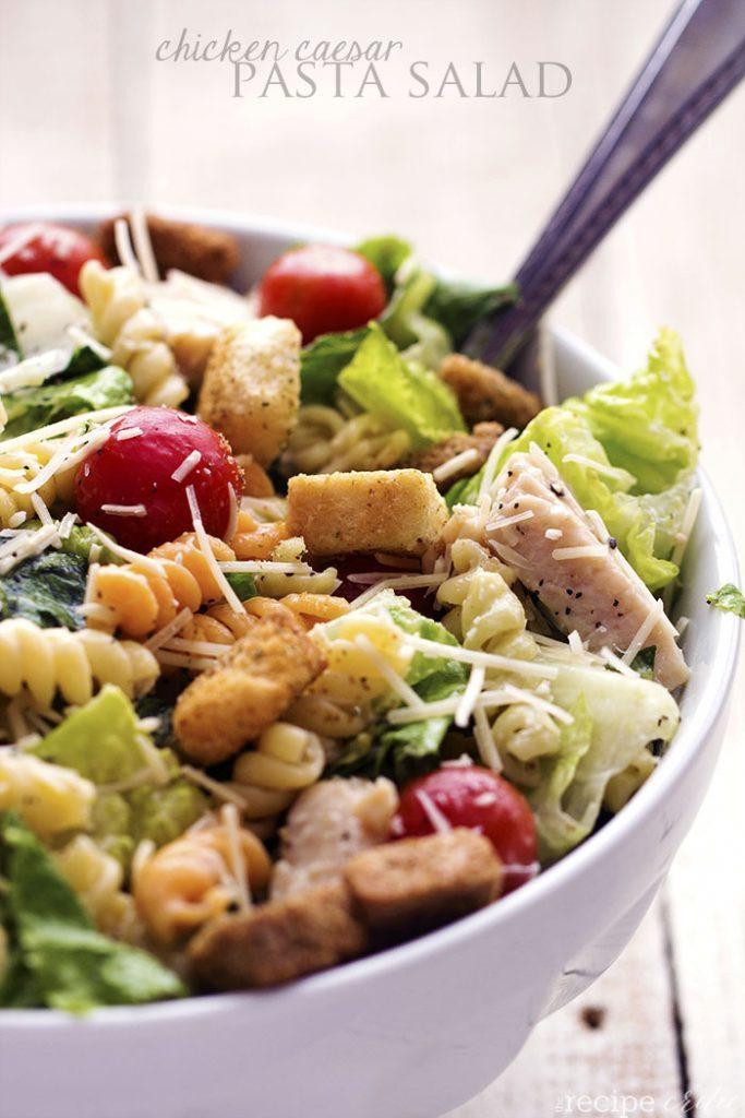 Salade de pâtes à la César