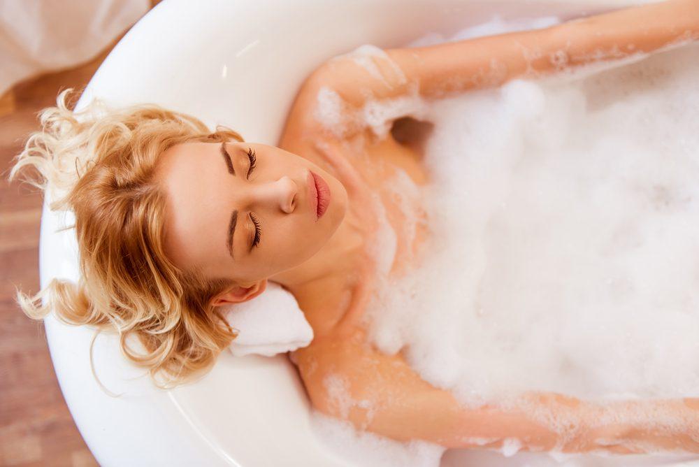 Idée bien-être: le bain moussant