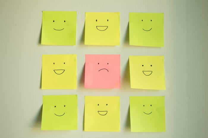 Bien-être: collez des affirmations positives